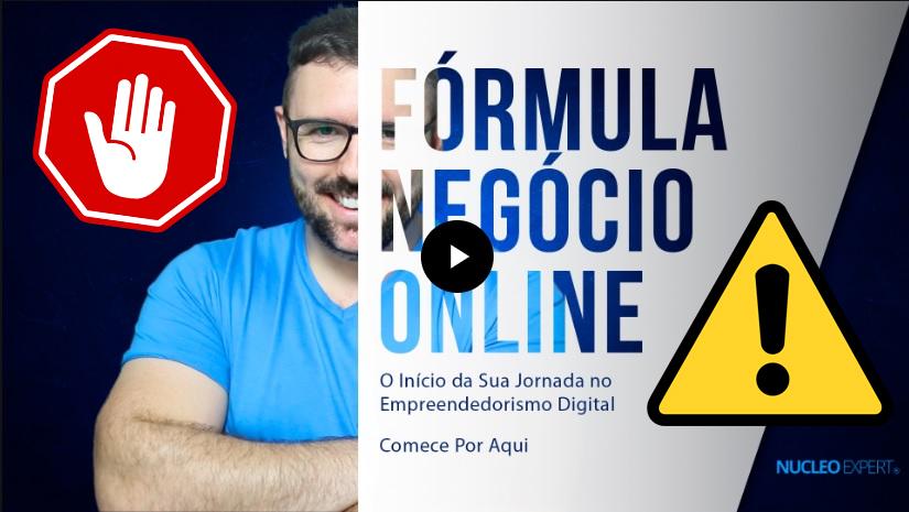 treinamento formula negócio online